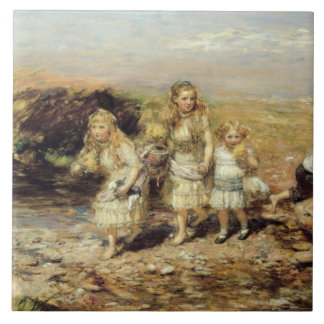 The Adventure, 1883 (oil on canvas) Tile