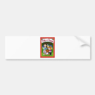 The Adventure of Pinky and Peanut Bumper Sticker