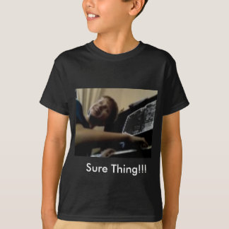 The Adventures of CJ Ghost-Sure Thing!!! T-Shirt
