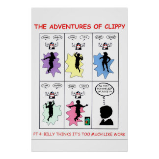 The Adventures of Clippy Pt 4 Posters