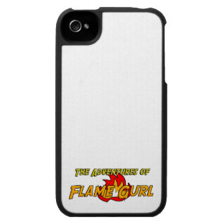 The Adventures of Flame Gurl iPhone 4 Cover