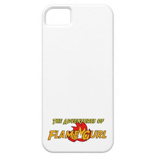 The Adventures of Flame Gurl iPhone 5/5S Covers