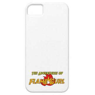 The Adventures of Flame Gurl iPhone 5 Cases