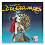 The Adventures of Paleta Man Poster