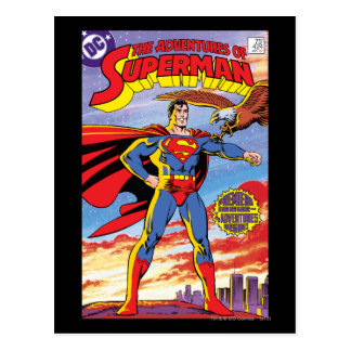 The Adventures of Superman #424 Postcard