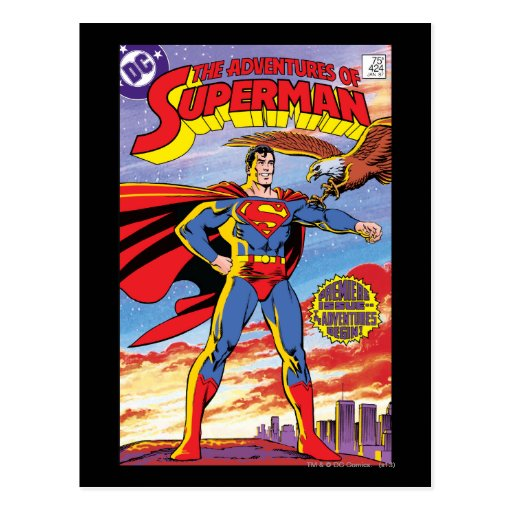The Adventures of Superman #424 Postcards
