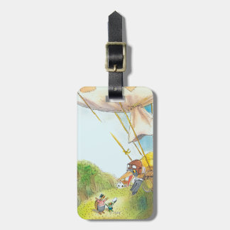The Adventures of Ted, Ed and Caroll Bag Tag