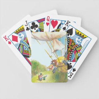 The Adventures of Ted, Ed and Caroll Bicycle Playing Cards