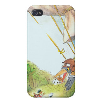 The Adventures of Ted, Ed and Caroll Cases For iPhone 4