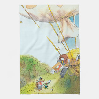 The Adventures of Ted, Ed and Caroll Tea Towel
