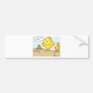 The Adventurs of Shellie and Hatch -1 Bumper Sticker