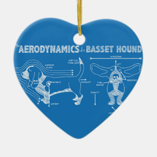The Aerodynamics of a Basset Hound Christmas Ornament
