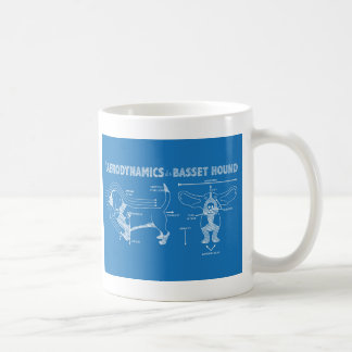 The Aerodynamics of a Basset Hound Coffee Mug
