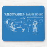 The Aerodynamics of a Basset Hound Mouse Pad