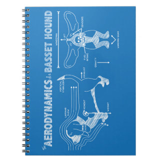 The Aerodynamics of a Basset Hound Spiral Note Books