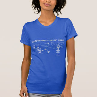 The Aerodynamics of a Basset Hound Tee Shirt