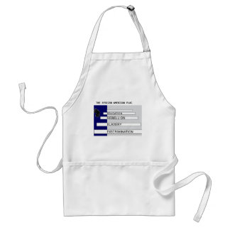 THE AFRICAN AMERICAN FLAG APRON