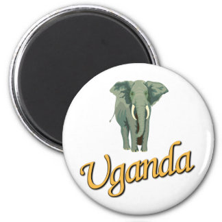 The African Elephant Refrigerator Magnets