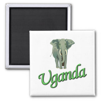 The African Elephant Refrigerator Magnet
