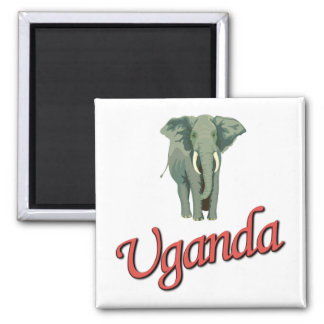 The African Elephant Magnets