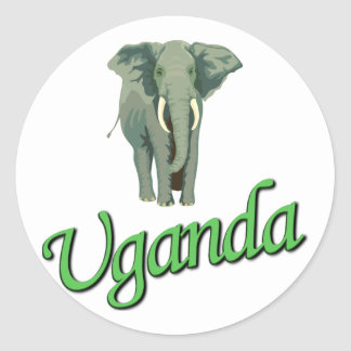 The African Elephant Sticker