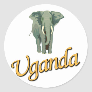 The African Elephant Stickers