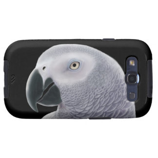 The African Gray Parrot Samsung Galaxy S Case Samsung Galaxy S3 Cases
