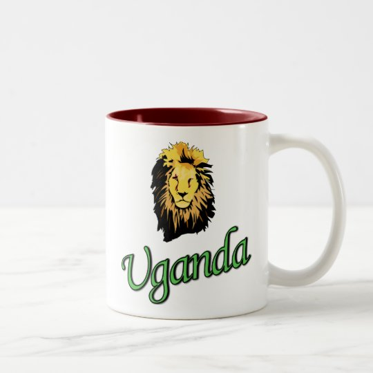 The African Lion Two-Tone Coffee Mug
