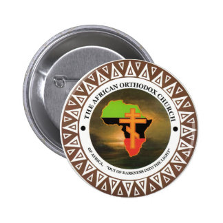 The African Orthodox Church of Africa Buttons