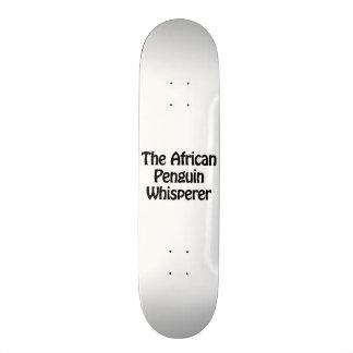 the african penguin whisperer 21.6 cm old school skateboard deck
