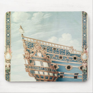The Aftercastle of 'Le Soleil Royal' Mouse Mat