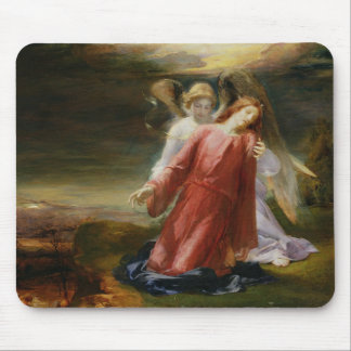 The Agony in the Garden, 1858 (oil on panel) Mouse Pad