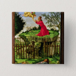 The Agony in the Garden, c.1500 15 Cm Square Badge