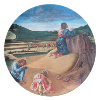 The Agony in the Garden Party Plates