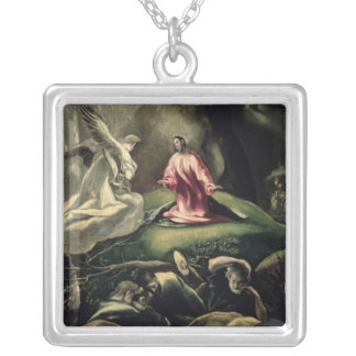 The Agony in the Garden Silver Plated Necklace