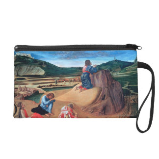 The Agony in the Garden Wristlet Clutches