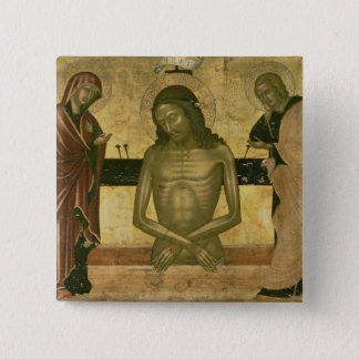 The Agony of Christ 15 Cm Square Badge