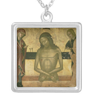 The Agony of Christ Silver Plated Necklace