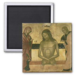 The Agony of Christ Square Magnet