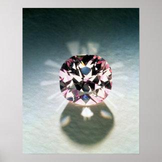 The Agra Diamond Poster
