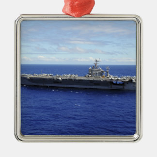 The aircraft carrier USS Abraham Lincoln 2 Christmas Ornament
