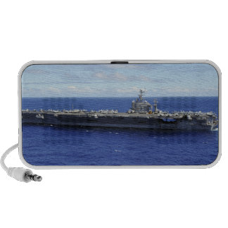 The aircraft carrier USS Abraham Lincoln 2 Laptop Speaker
