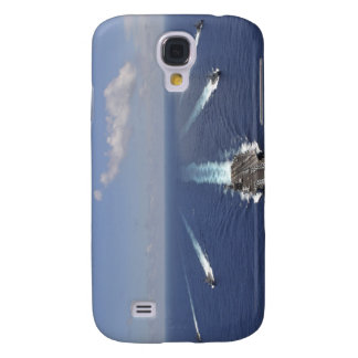 The aircraft carrier USS Abraham Lincoln Galaxy S4 Case