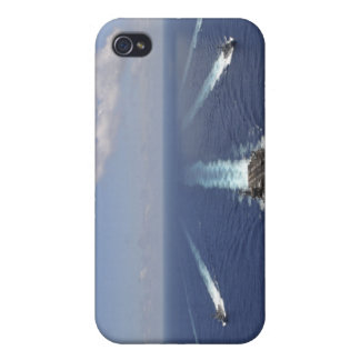The aircraft carrier USS Abraham Lincoln iPhone 4/4S Covers