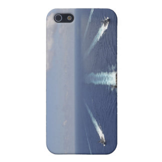 The aircraft carrier USS Abraham Lincoln iPhone 5 Case