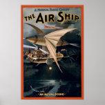The Airship Print