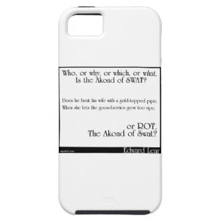 The Akond of Swat 18 iPhone 5 Cases