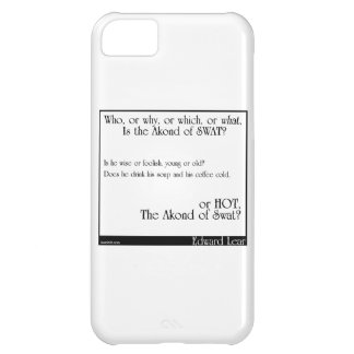 The Akond of Swat 2 iPhone 5C Case