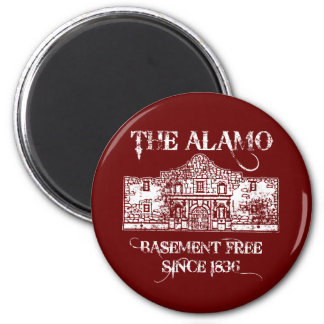 The Alamo Basement 6 Cm Round Magnet