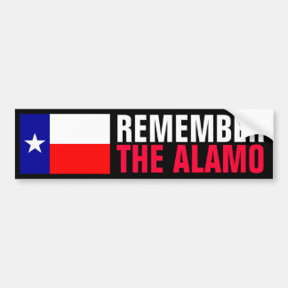 The Alamo Bumper Sticker